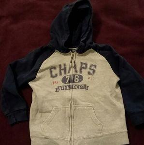 Chaps zip up hoodie